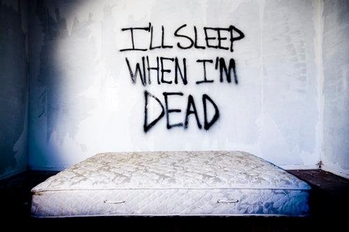 i can sleep when im dead song